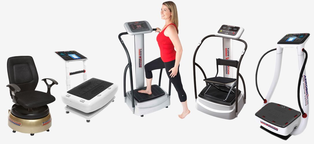 T-zone Zaaz Whole Body Vibration machines